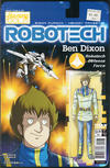 Cover for Robotech (Titan, 2017 series) #12 [Cover B - Blair Shedd 'Action Figure']