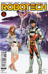 Cover for Robotech (Titan, 2017 series) #18 [Cover A]