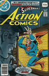 Cover for Action Comics (DC, 1938 series) #493 [British]