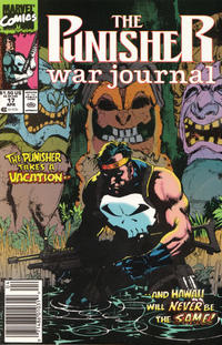 Cover Thumbnail for The Punisher War Journal (Marvel, 1988 series) #17 [Newsstand]