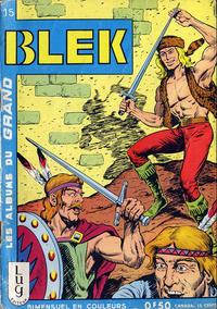Cover Thumbnail for Blek (Editions Lug, 1963 series) #15