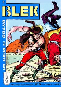 Cover Thumbnail for Blek (Editions Lug, 1963 series) #9