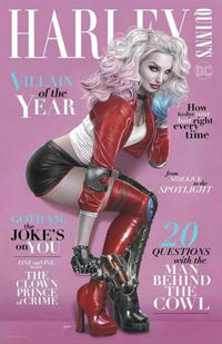 Cover Thumbnail for Harley Quinn's Villain of the Year (DC, 2020 series) #1 [Black Flag Comics Natali Sanders Cover]