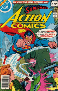 Cover Thumbnail for Action Comics (DC, 1938 series) #490 [British]