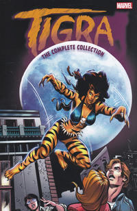 Cover Thumbnail for Tigra: The Complete Collection (Marvel, 2019 series)