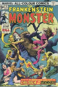 Cover Thumbnail for Frankenstein (Marvel, 1973 series) #18 [British]