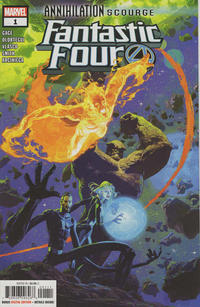 Cover Thumbnail for Annihilation - Scourge: Fantastic Four (Marvel, 2020 series) #1