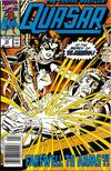 Cover Thumbnail for Quasar (1989 series) #10 [Newsstand]