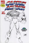 Cover for Captain America (Marvel, 1996 series) #1 [Wizard World Chicago Sketch Variant]