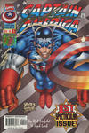 Cover for Captain America (Marvel, 1996 series) #1 [Wizard Authentic Variant]