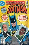 Cover Thumbnail for Detective Comics (1937 series) #501 [British]