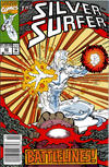 Cover Thumbnail for Silver Surfer (1987 series) #62 [Newsstand]
