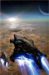 Cover Thumbnail for The Lost Fleet: Corsair (2017 series) #5 [Cover B David Demaret Wraparound]