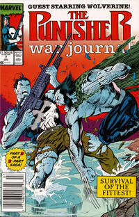 Cover Thumbnail for The Punisher War Journal (Marvel, 1988 series) #7 [Newsstand]