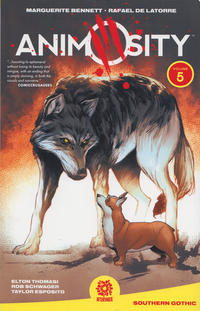 Cover Thumbnail for Animosity (AfterShock, 2017 series) #5 - Southern Gothic