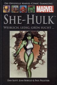 Cover Thumbnail for Die offizielle Marvel-Comic-Sammlung (Hachette [DE], 2013 series) #37 - She-Hulk: Weiblich, ledig, grün sucht…