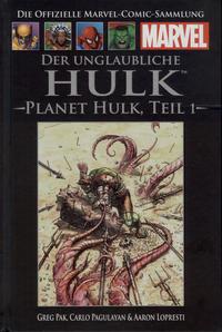 Cover Thumbnail for Die offizielle Marvel-Comic-Sammlung (Hachette [DE], 2013 series) #45 - Der unglaubliche Hulk: Planet Hulk 1