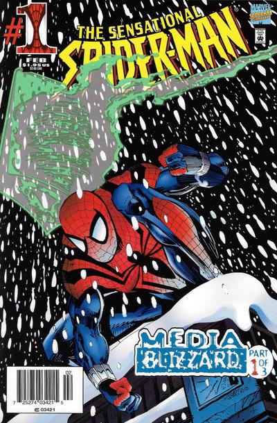Cover for The Sensational Spider-Man (Marvel, 1996 series) #1 [Australian]