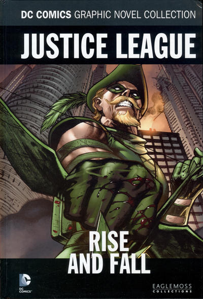 Cover for DC Comics Graphic Novel Collection (Eaglemoss Publications, 2015 series) #99 - Justice League - Rise and Fall