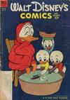 Cover for Walt Disney's Comics and Stories (Dell, 1940 series) #v14#4 (160) [Subscription Variant]