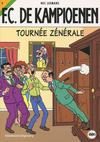 Cover for F.C. De Kampioenen (Standaard Uitgeverij, 1997 series) #9 - Tournée zénérale [Herdruk 2009]