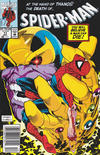 Cover for Spider-Man (Marvel, 1990 series) #17 [Newsstand]