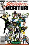 Cover for Strikeforce: Morituri (Marvel, 1986 series) #5 [Newsstand]