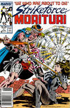 Cover for Strikeforce: Morituri (Marvel, 1986 series) #7 [Newsstand]