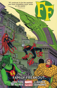 Cover Thumbnail for FF (Marvel, 2013 series) #2 - Family Freakout