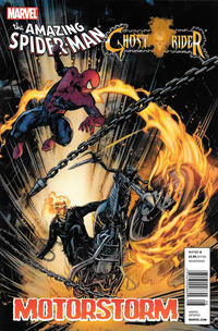 Cover Thumbnail for Amazing Spider-Man/Ghost Rider: Motorstorm (Marvel, 2011 series)  [Newsstand]