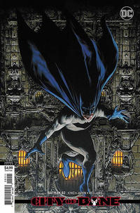Cover Thumbnail for Batman (DC, 2016 series) #82 [Travis Charest Cardstock Variant Cover]