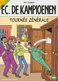 Cover Thumbnail for F.C. De Kampioenen (Standaard Uitgeverij, 1997 series) #9 - Tournée zénérale [Herdruk 2008]