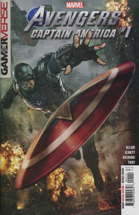 Cover Thumbnail for Marvel's Avengers: Captain America (Marvel, 2020 series) #1 [Stonehouse]