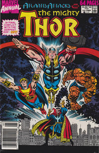 Cover Thumbnail for Thor Annual (Marvel, 1966 series) #14 [Newsstand]