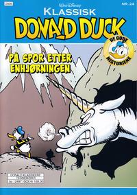 Cover Thumbnail for Klassisk Donald Duck (Hjemmet / Egmont, 2016 series) #24 - På spor etter enhjørningen