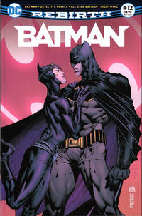 Cover Thumbnail for Batman Rebirth (Urban Comics, 2017 series) #12