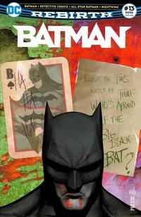Cover Thumbnail for Batman Rebirth (Urban Comics, 2017 series) #13