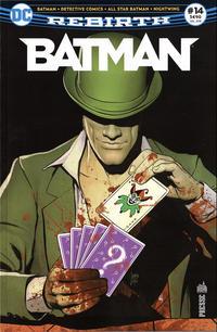 Cover Thumbnail for Batman Rebirth (Urban Comics, 2017 series) #14