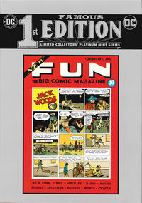 Cover Thumbnail for Famous First Edition: New Fun #1 (DC, 2020 series) #C-63