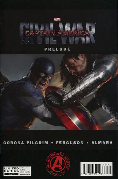 Cover for Marvel's Captain America: Civil War Prelude (Marvel, 2016 series) #4
