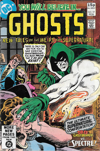 Cover for Ghosts (DC, 1971 series) #97 [Direct]