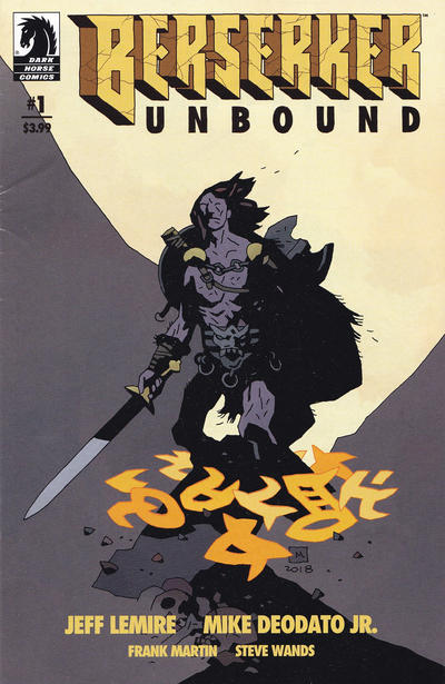 Cover for Berserker Unbound (Dark Horse, 2019 series) #1 [Mike Mignola Cover]