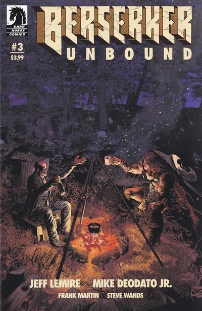 Cover for Berserker Unbound (Dark Horse, 2019 series) #3