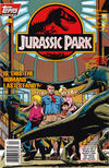 Cover Thumbnail for Jurassic Park (1993 series) #4 [Newsstand]