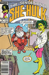 Cover for The Sensational She-Hulk (Marvel, 1989 series) #8 [Newsstand]