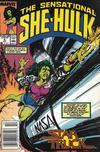 Cover for The Sensational She-Hulk (Marvel, 1989 series) #6 [Newsstand]