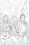 Cover for Buffy the Vampire Slayer (Boom! Studios, 2019 series) #1 [Jen Bartel Black and White]