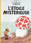 Cover for Les Aventures de Tintin: L'Étoile mystérieuse (Casterman, 1999 series)