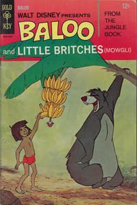 Cover Thumbnail for Walt Disney Presents Baloo and Little Britches (Western, 1968 series) #1 [Non-Ad]