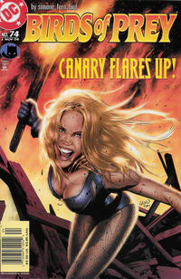 Cover Thumbnail for Birds of Prey (DC, 1999 series) #74 [Newsstand]